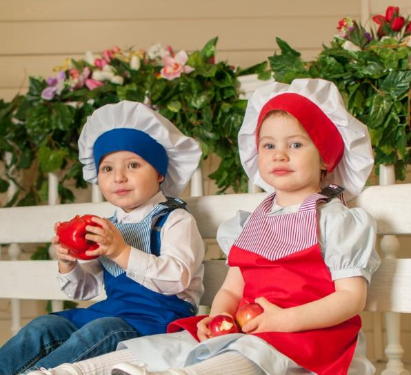Детские фартуки от 150 руб