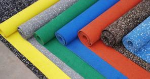 Рулонное покрытие из резиновой крошки по доступной цене