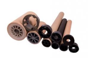 Продажа пластиковых пробок-заглушек для картонных втулок, гильз, шпуль