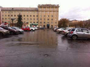 Автостоянка в Магнитогорске