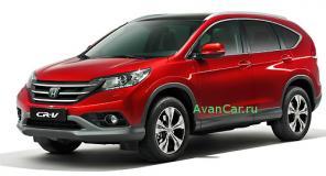 Автосигнализация для Honda CRV