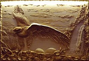 Барельеф - декор, картины из декоративной штукатурки. Доставка EMS.