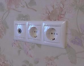 Перенос розеток и выключателей