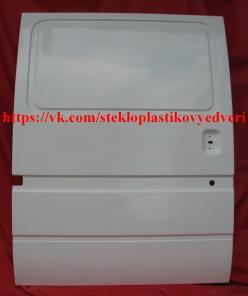 Дверь сдвижная боковая Форд Транзит, стеклопластик