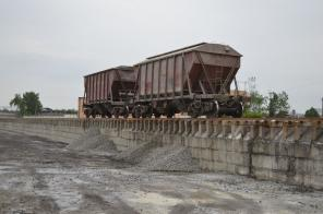 Перегрузка сыпучих грузов