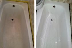 Ремонт и реставрация ванн наливным жидким акрилом