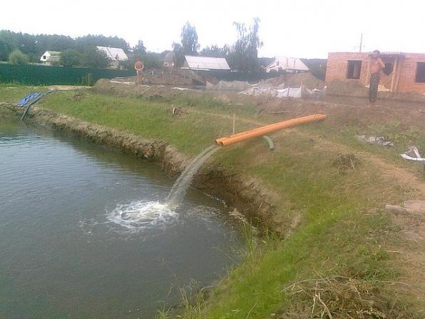 Копка и очистка водоемов любой сложности
