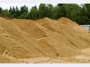 Песок строительный, кварцевый, крупнозернистый