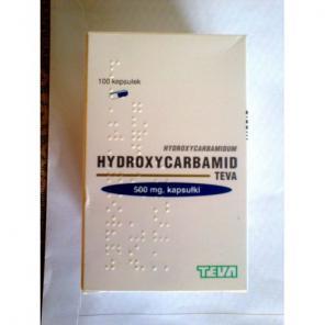 ГІДРОКСИСЕЧОВИНА (hydroxycarbamide teva),