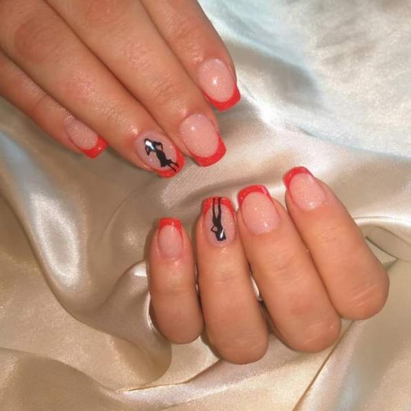 Укрепление ногтей биогелем.