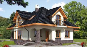 Современные дома под клюя