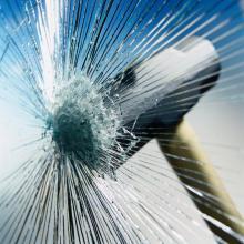Установка бронирующих (защитных) пленок на стекла зданий - бронировани