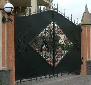 Заборы, ворота из профнастила, металла, кованные, калитки