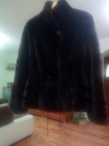 Норковый полушубок. Бренд Lazis Furs