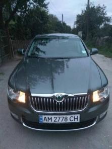 Skoda Superb 1.6 TDI MT (2013 года)