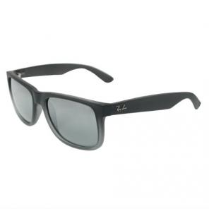Очки Ray-Ban Justin Black Rubber Sunglasses (RB 4165 852/88)
