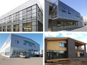 Производства, доставка и установка алюминиевых окон и дверей