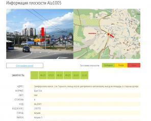 Реклама на бордах 3х6м в г. Севастополь, Ялта, Алушта, трассах Крыма