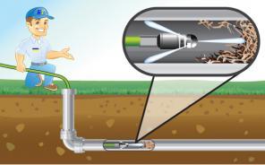 Гидродинамическая механическая прочистка, телеинспекция труб