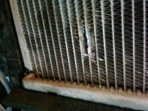 Ремонт радиаторов аргон, пайка. газодинамическое напыление.
