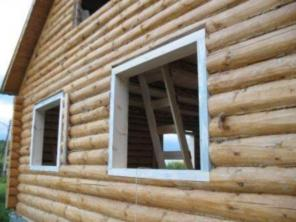 Отделка деревянного дома, бани, сруба