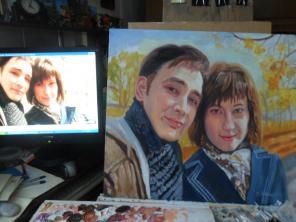 Пишу портреты на заказ, шаржи, недорого, профессионально