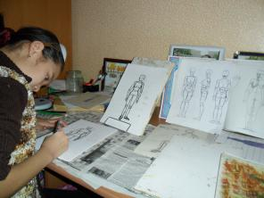 Уроки рисования и живописи для школьников от 8 лет индивидуально.