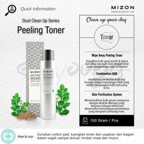 Кислотный тонер Mizon AHA-BHA Daily Clean Toner