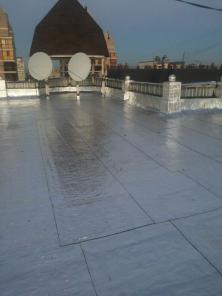 Ремонт крыши в Астане материалом ризолин
