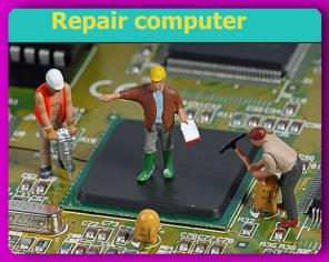 Сложный ремонт ПК с заменой видеочипа и видеоматрицы