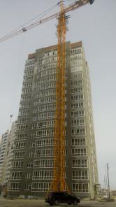 QTZ-250 башенный кран грузоподъемность 12 тонн