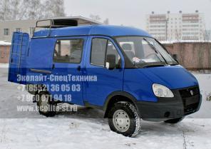 Лаборатории гидродинамических исследований на шасси ГАЗ 2752 Соболь