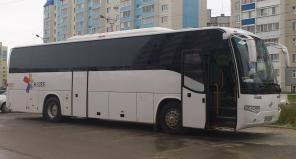 Аренда и заказ автобусов 18-50 мест недорого в Уфе, ХМАО, в Тобольске.