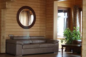 Продам новый дом из клееного бруса