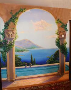 Художественная роспись стен - Украсьте квартиру!