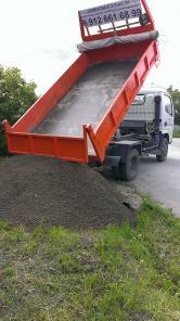 Доставка песка, щебня, других сыпучих, габаритных и других грузов
