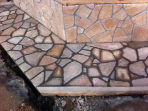Камень плитняк от производителя.