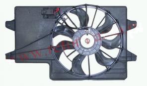 Дифузор радиатора ford focus
