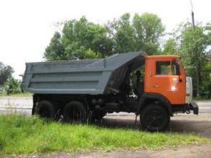Доставка сыпучих грузов. камаз самосвал 10 тонн. недорого.