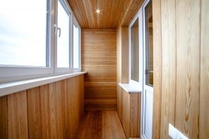 Утепление и отделка балконов (лоджий)