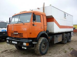 КамАЗ-43118-10 (58843) ПКС-5-3 «Подъемник каротажный специальный».