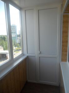 Отделка и ремонт балконов пластиковые окна