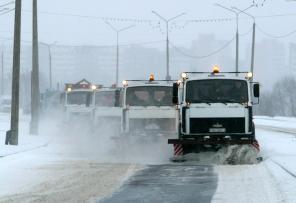 Уборка снега механизированным способом