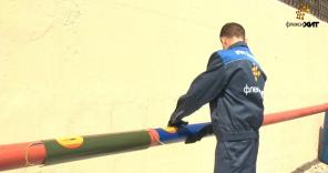 Пленочный обогреватель для труб и трубопроводов