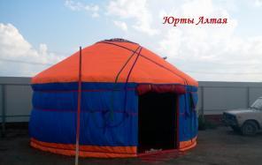Юрта - мобильный дом, комфортная альтернатива палатке