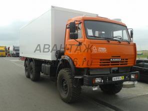 Камаз 43118 изотермический фургон