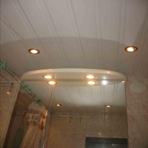 Отделка панелями (ванны, сан узлы, коридоры)