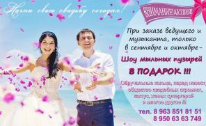 Тамада, ДиДжей на свадьбу, юбилей