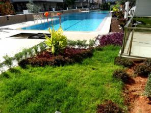 Продажа квартиры в люкс комплексе в Ларе в Анталии Турция