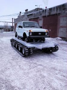 Гусеничный модуль под автомобиль УАЗ, НИВА, ГАЗель
